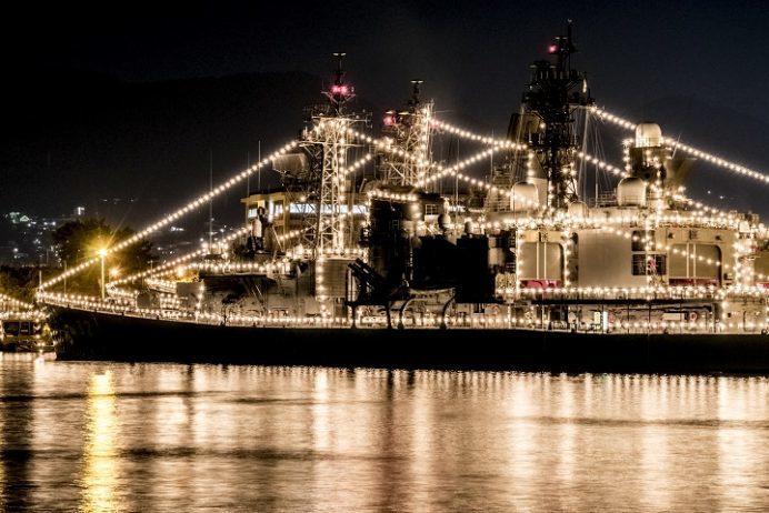 きらきらフェスティバル・立神岸壁及び倉島岸壁係留中の海上自衛隊の護衛艦