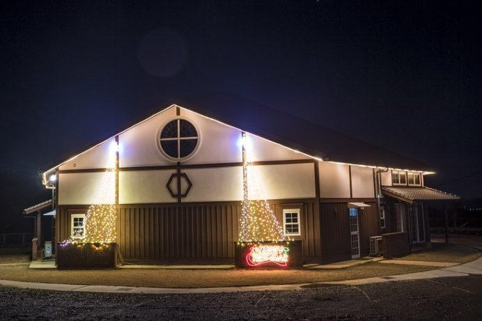 上神崎教会 (平戸市大久保町220)のクリスマスイルミネーション