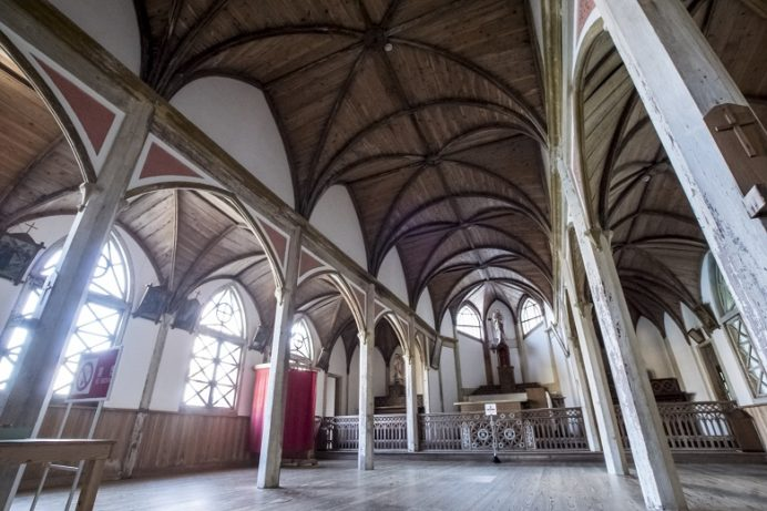旧五輪教会(世界遺産・五島市久賀島)