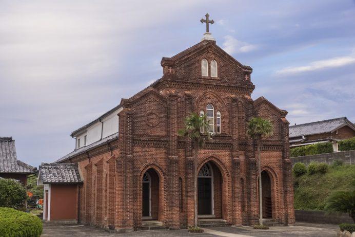 楠原教会(五島市福江島)