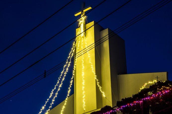 跡次教会(長崎県上五島町)