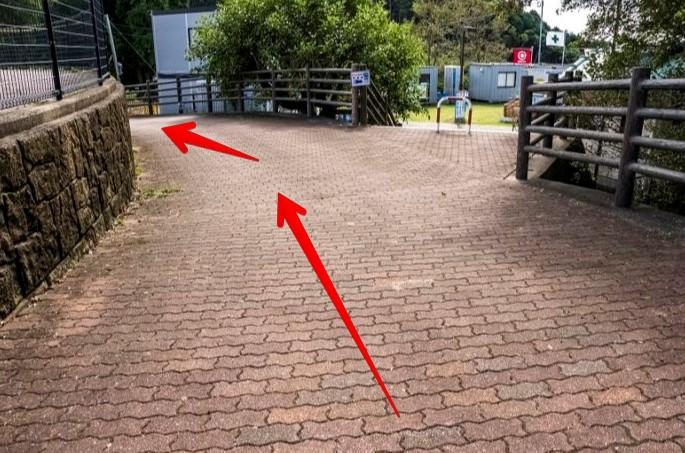 稲佐山バス停から稲佐山展望台までの歩き方(遊歩道)