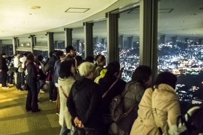 稲佐山行き夜景見学ツアー(長崎遊覧バス )