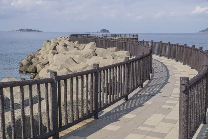 高浜海水浴場(アイランド)、長崎市野母崎地区の展望所