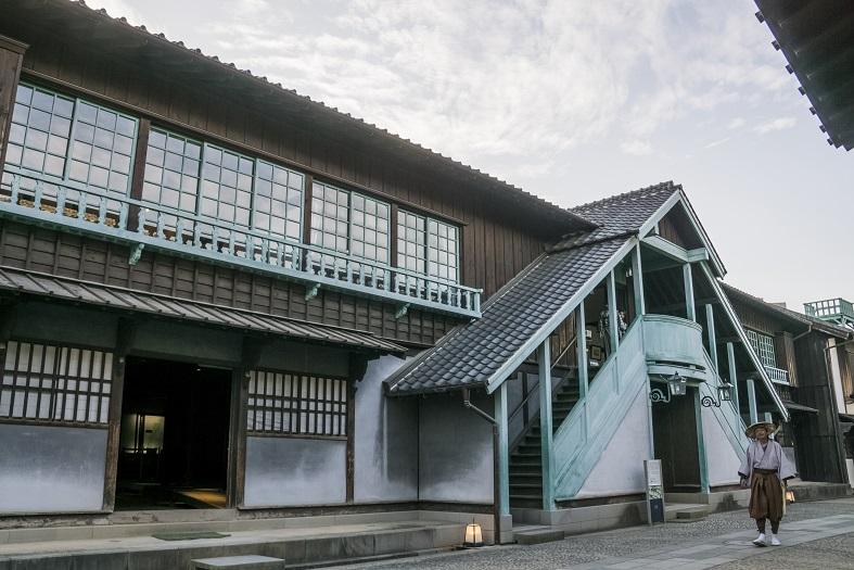 長崎市の出島(出島和蘭商館跡)の「カピタン部屋」