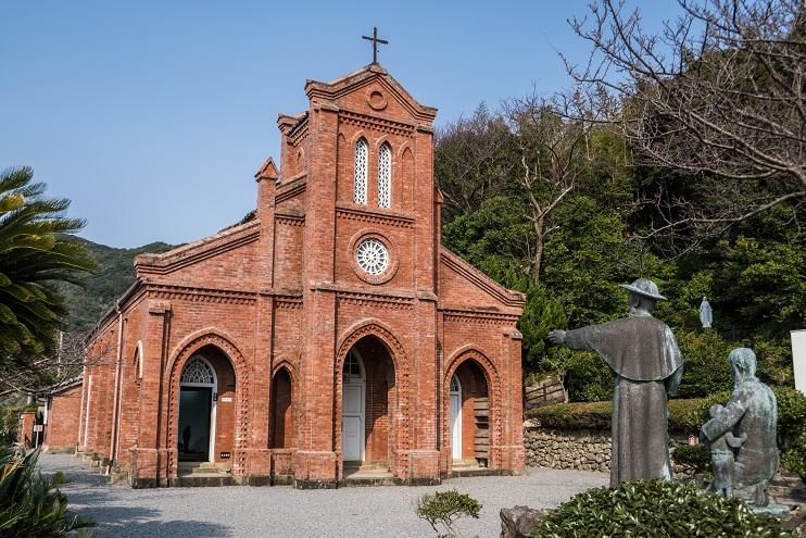 堂崎教会(五島市福江)