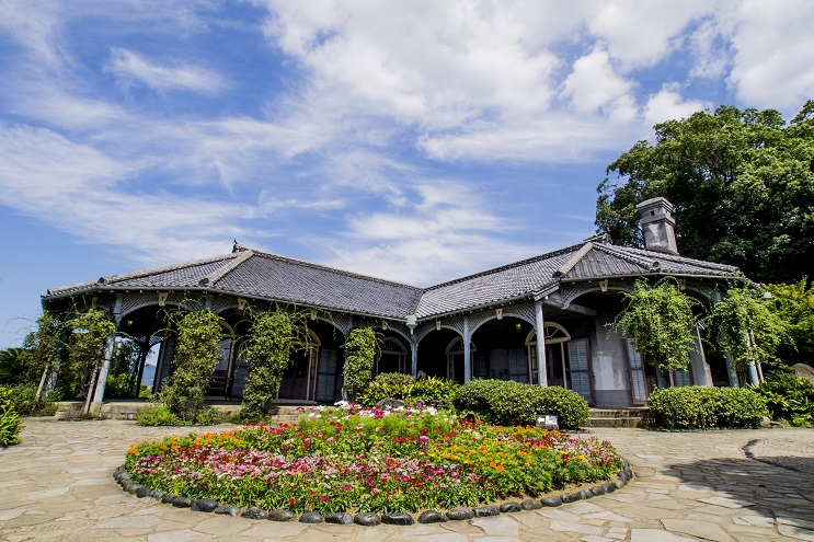 グラバー園の旧グラバー住宅(世界遺産)