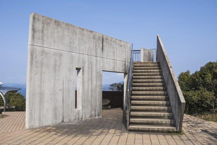 権現山展望公園(長崎市野母崎地区)の展望台