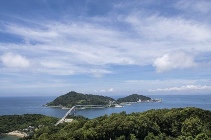 香焼総合公園(長崎市)からの伊王島