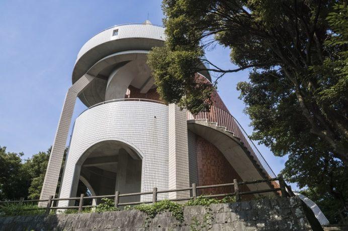香焼総合公園の展望台