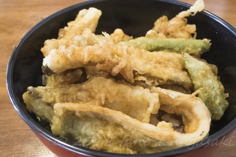 長崎漁師 おおとり丸 (長崎市野母崎地区)のタチウオ天丼