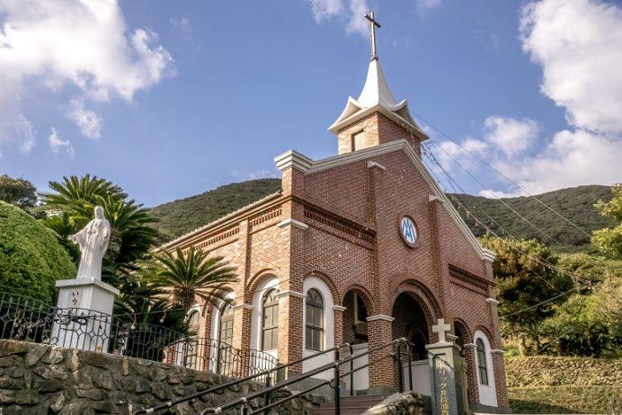 井持浦教会(五島市玉之浦)