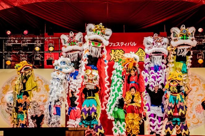 長崎ランタンフェスティバル(中国獅子舞)