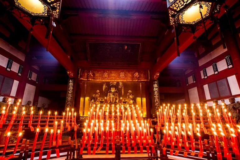 長崎ランタンフェスティバル(崇福寺会場)の元宵節、2016.2.22 (月)