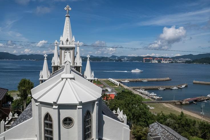 馬込教会(沖之島教会)、長崎市伊王島