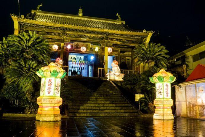 長崎ランタンフェスティバル(唐人屋敷会場)、福建会館