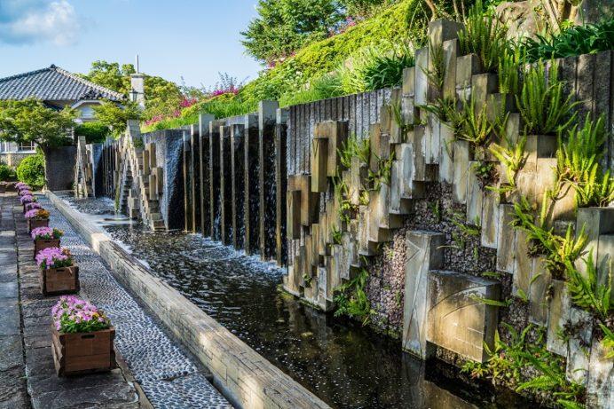 グラバー園(長崎市南山手町)の祈りの泉