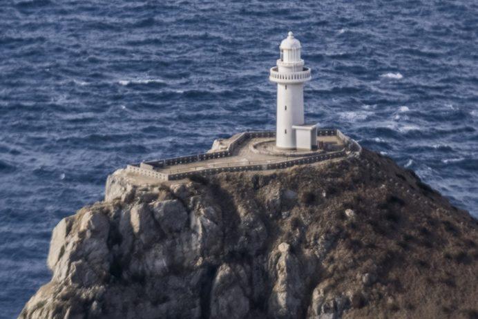 大瀬崎灯台(五島市玉之浦町)、福江島、映画悪人ロケ地