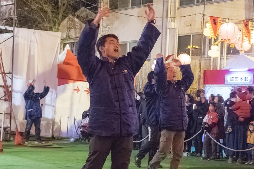 長崎ランタンフェスティバル(中央公園)、煽り隊