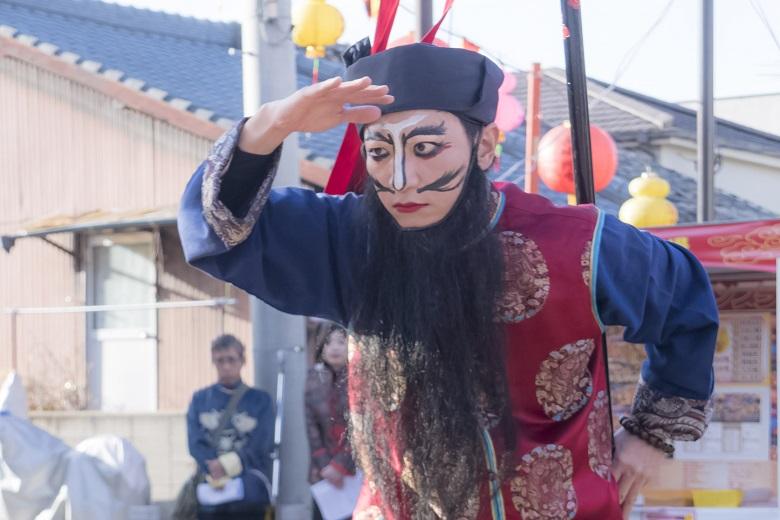 長崎ランタンフェスティバル(唐人屋敷会場)、媽祖行列