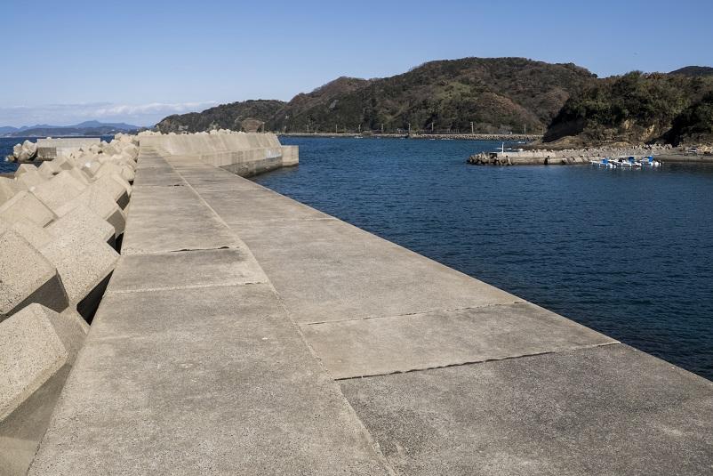 野々串漁港(長崎市野母崎地区)