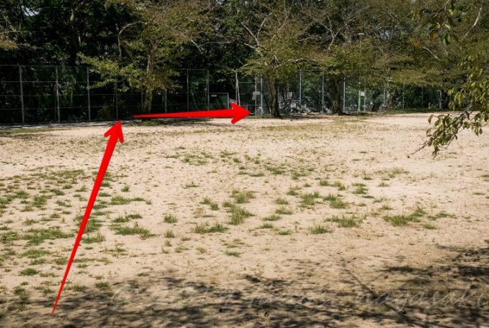 風頭公園(長崎市伊良林)への徒歩の行き方(復路編)