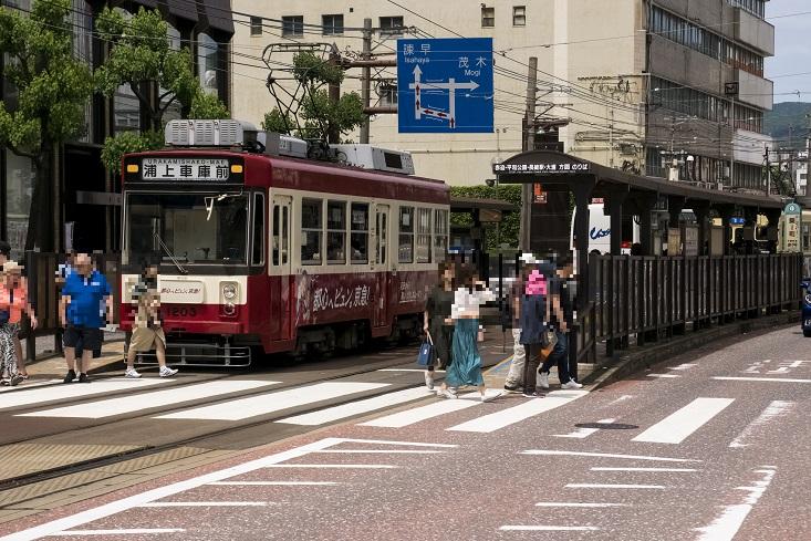長崎ランタンフェスティバル【路面電車で会場GO】~最寄り電停が一目瞭然~