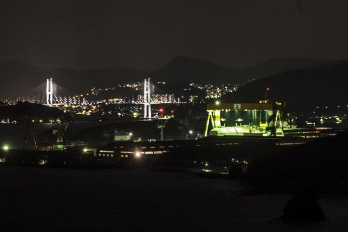 香焼総合公園(長崎市)の夜景