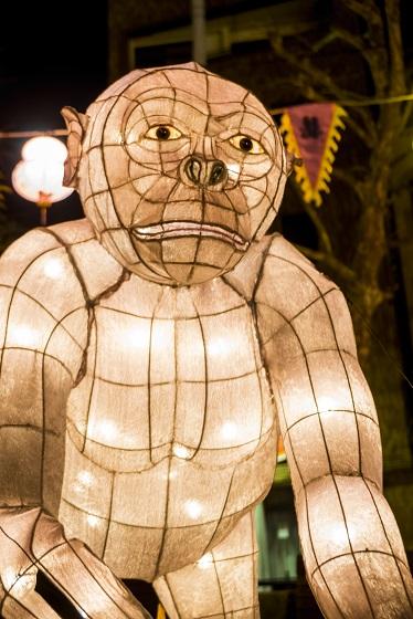 長崎ランタンフェスティバル(中央公園の動物オブジェ)
