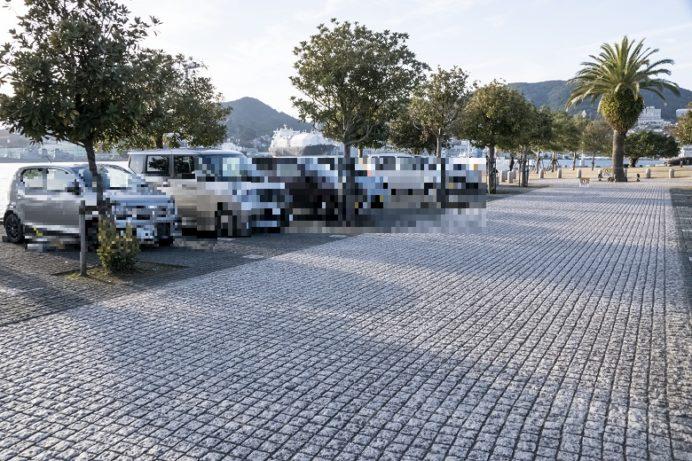 森の駐車場 (南)、水辺の森公園駐車場
