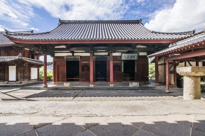 崇福寺(長崎市鍛冶屋町)の護法堂