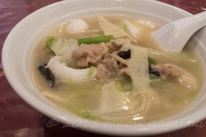 中華菜館 福壽の特製そぼろちゃんぽん