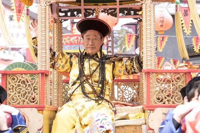 長崎ランタンフェスティバル(皇帝パレード)