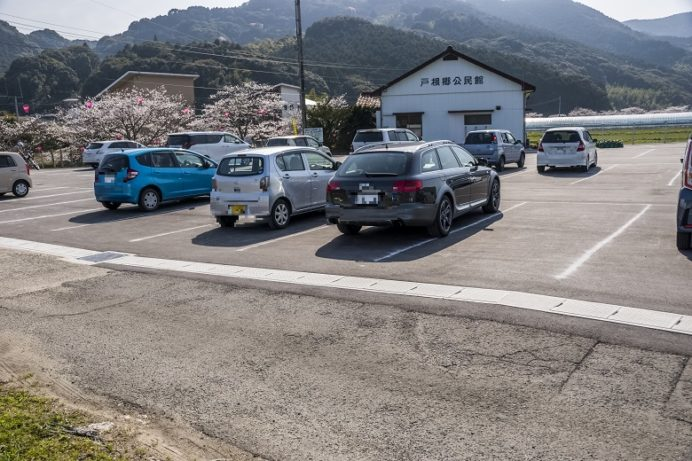 琴海戸根川沿い(長崎市)の駐車場