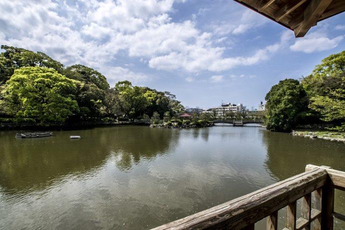 大村公園(長崎県大村市玖島)