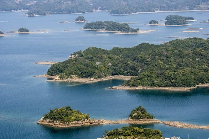 大山公園(松浦市福島)のいろは島