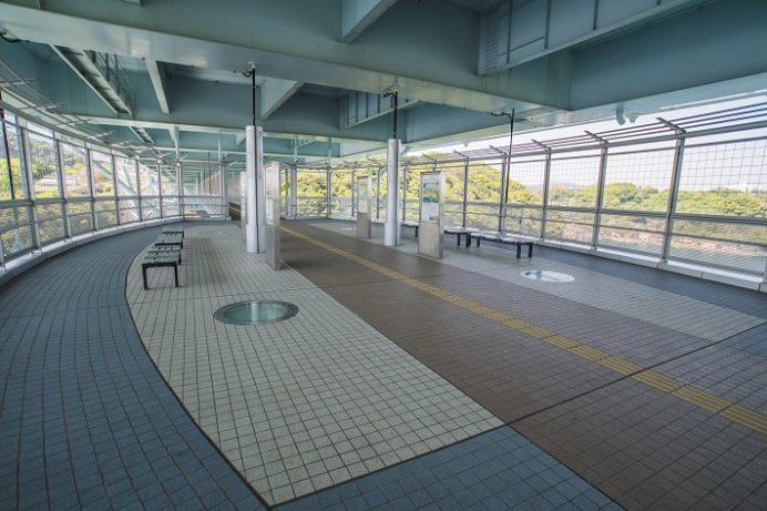 西海橋公園(長崎県西海市・佐世保市針尾)の新西海橋歩道橋