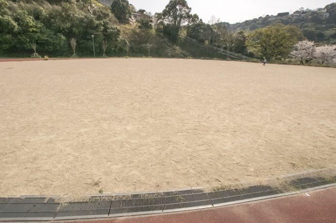 出雲近隣公園(長崎市)のグラウンド