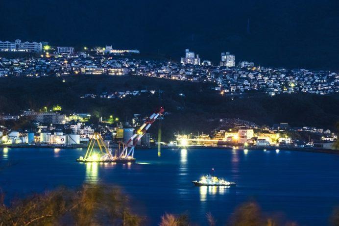 神ノ島公園(長崎市)の夜景