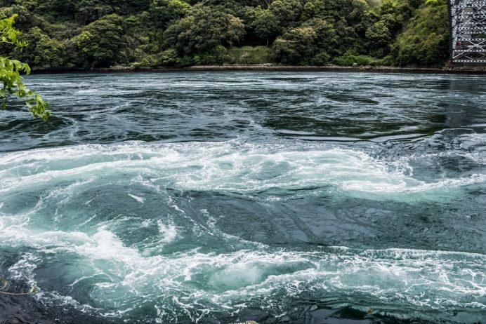 西海橋公園(長崎県西海市・佐世保市針尾)の渦潮