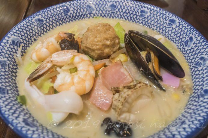 中華菜館 春夏秋冬(長崎新地中華街)の特製ちゃんぽん