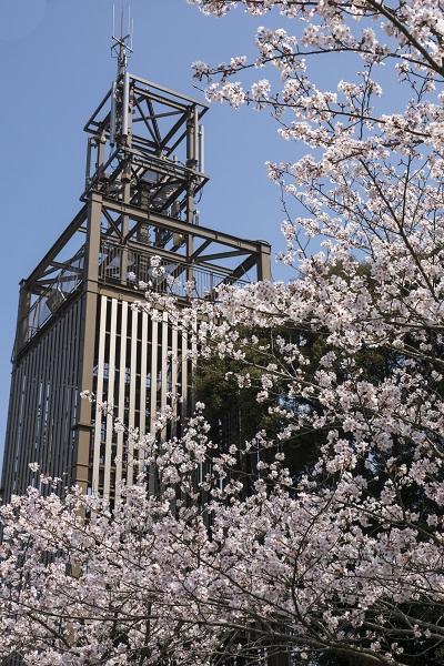 中尾城公園(長崎県西彼杵郡長与町)の展望台