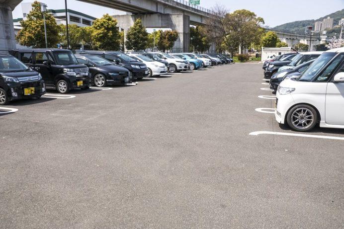佐世保公園(長崎県佐世保市平瀬町)の駐車場