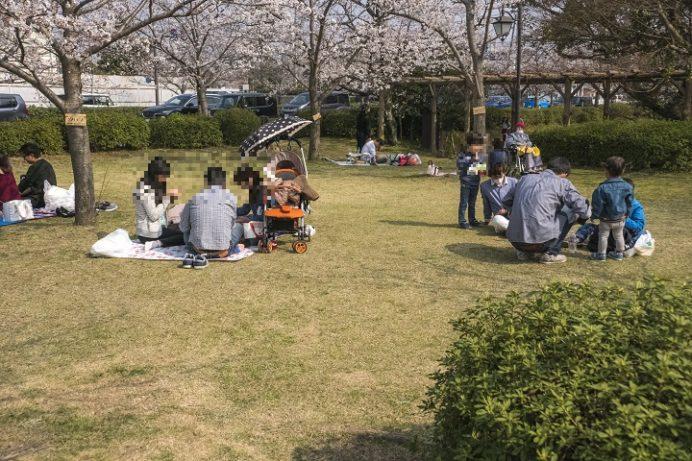 大村公園(長崎県大村市玖島)のおおむら花まつり