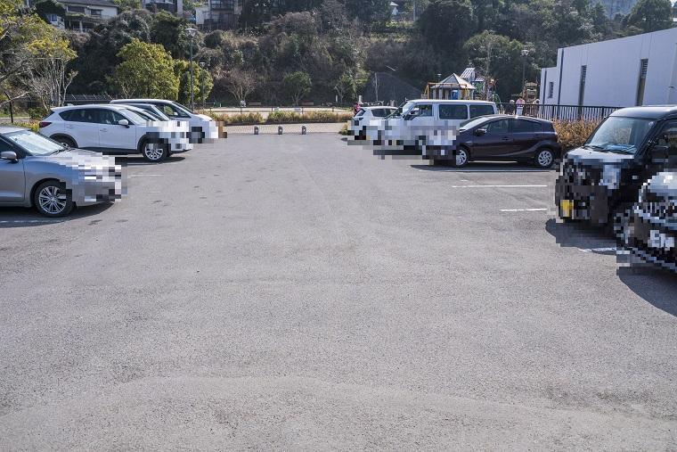 出雲近隣公園(長崎市)の駐車場