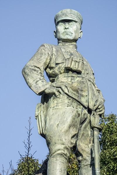 橘神社(長崎県雲仙市千々石)の橘中佐像