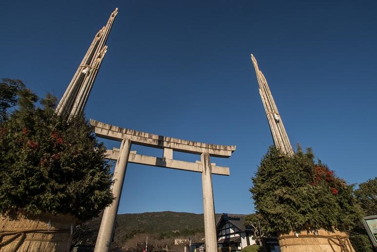 橘神社(長崎県雲仙市千々石)の鳥居