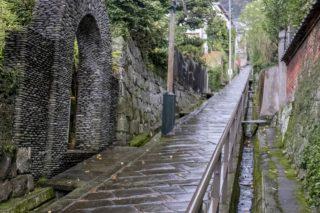「どんどん坂」(長崎市)【長崎風情あふれる石畳の坂】迷わない地図付