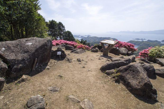 長串山公園(佐世保市鹿町町)のつつじまつり