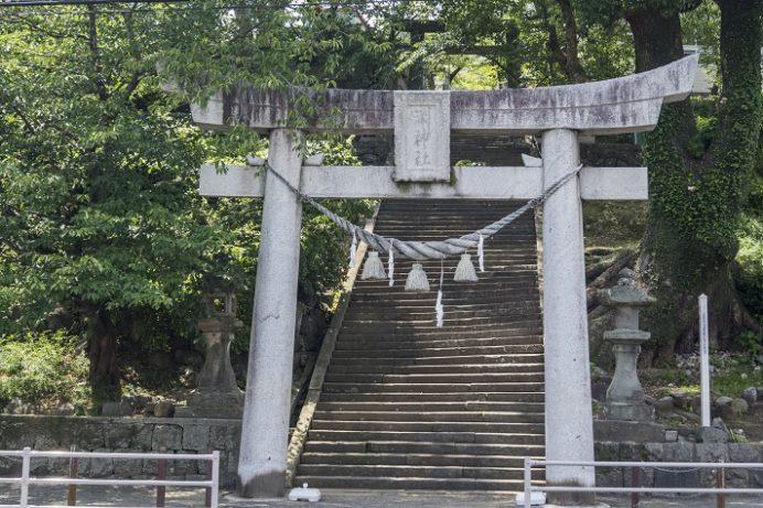 淵神社(長崎県長崎市淵町、稲佐山麓)